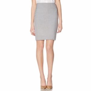 The Limited Collection Gray Suiting Skirt - 8